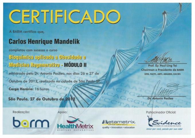 Curso Bioquimica II