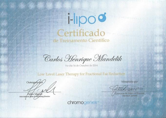 Certificado Ilipo